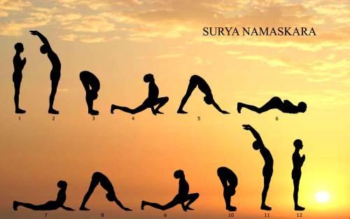 Yoga - Salutul soarelui (Surya Namaskara)