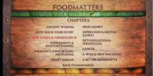 Food matters - Mancarea conteaza