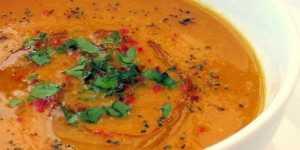 Bucataria indiana - Supa de linte rosie