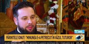 Minunea vindecarii parintelui Ionut Butoiu: Medicii m-au declarat decedat. Am spus ce s-a petrecut in sala de operatie, pas cu pas
