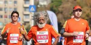 Gheorghe Mosion - Boala de plamani l-a impins sa faca sport si acum alearga la maratoane