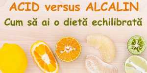 ACID versus ALCALIN: Cum sa ai o dieta echilibrata