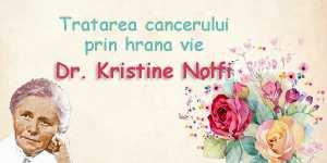 Dr. Kristine Nolfi - Tratarea cancerului prin hrana vie
