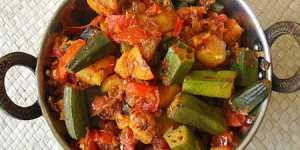 Bucataria indiana - Subji de legume