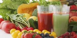 Cura cu sucuri proaspete din legume si fructe