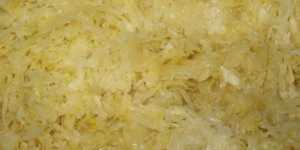 Varza fermentata - doza masiva de probiotice fara lactoza